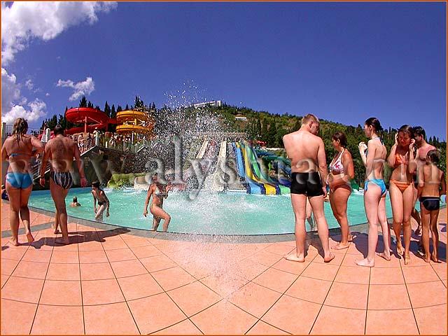 аквапарк в Алуште - отдых в Крыму
